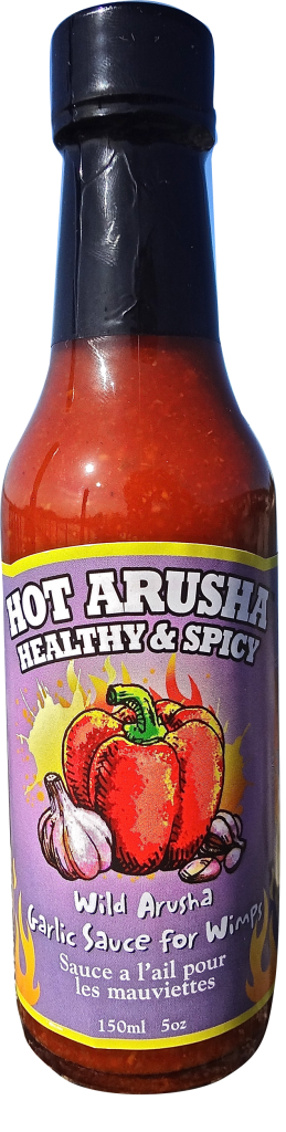 Wild Arusha Garlic Sauce for Wimps